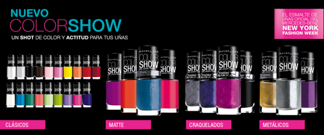 maybelline color show nail laquer esmalte uñas 2