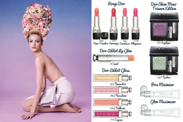 dior trianon make up makeup maquillaje collection 5