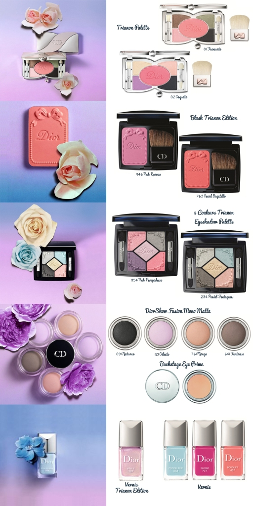 dior trianon make up makeup maquillaje collection 7