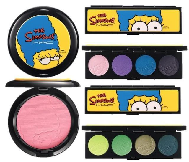 marge the simpsons mac cosmetics 3