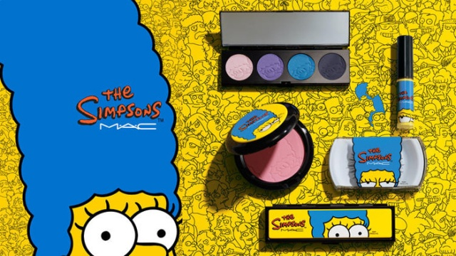 marge the simpsons mac cosmetics